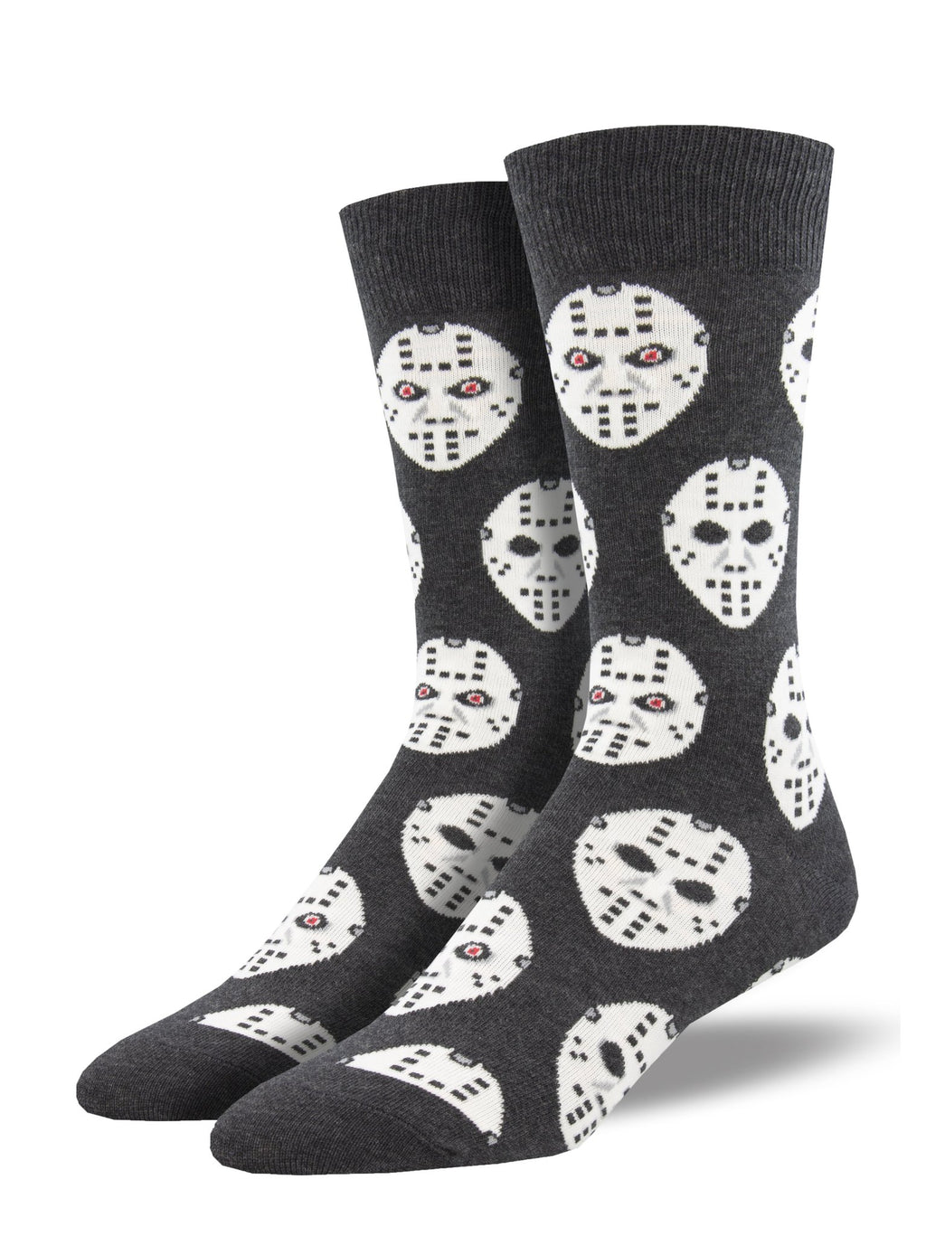Face Off Charcoal Men's Socks
