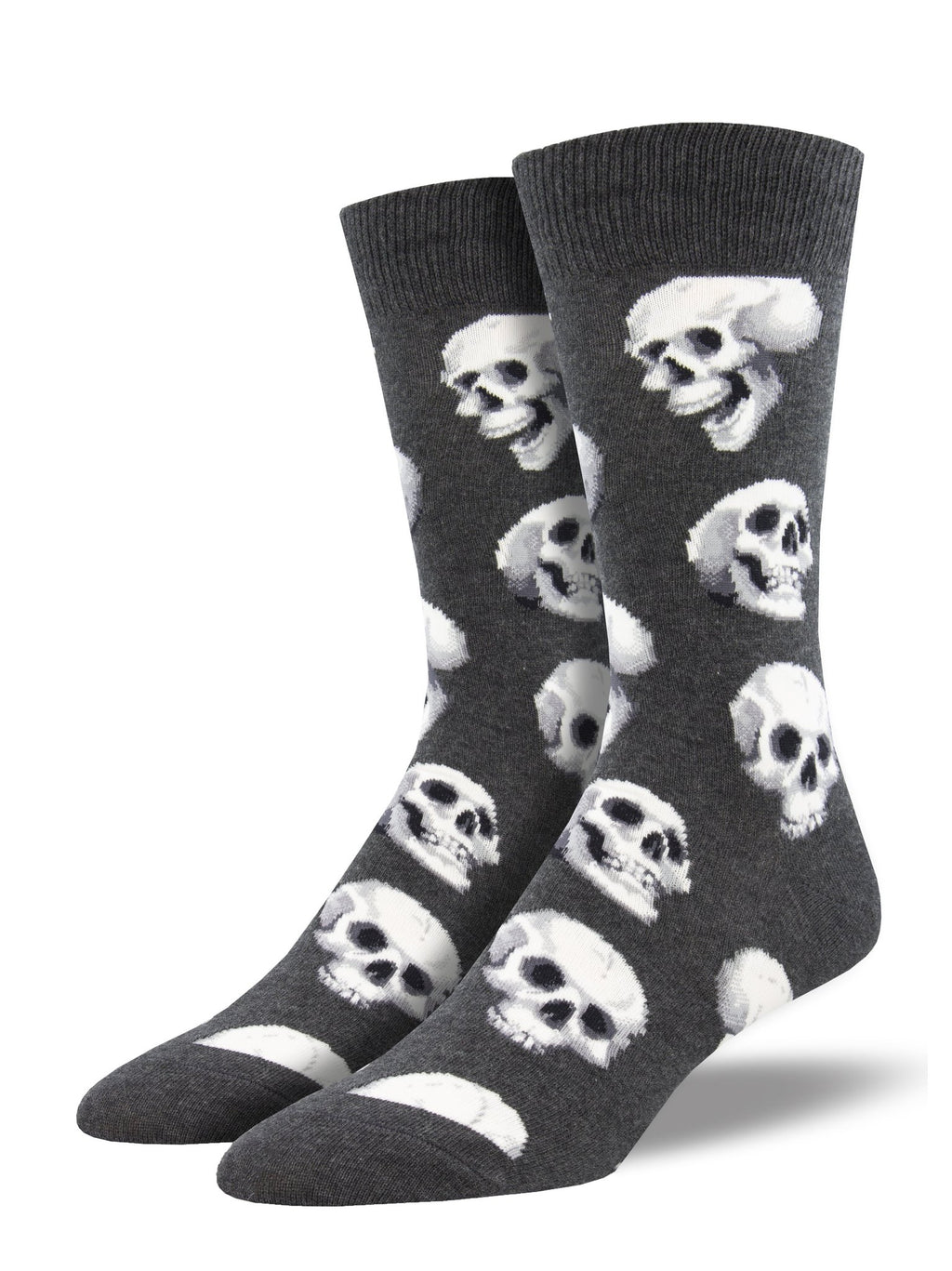 Sacred Skulls Charcoal Heather Men's Socks