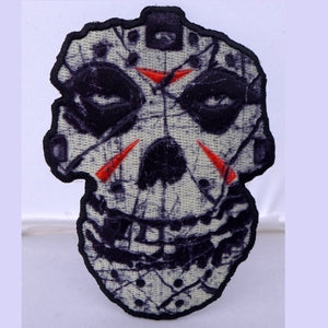Misfits Crystal Lake Skull Patch