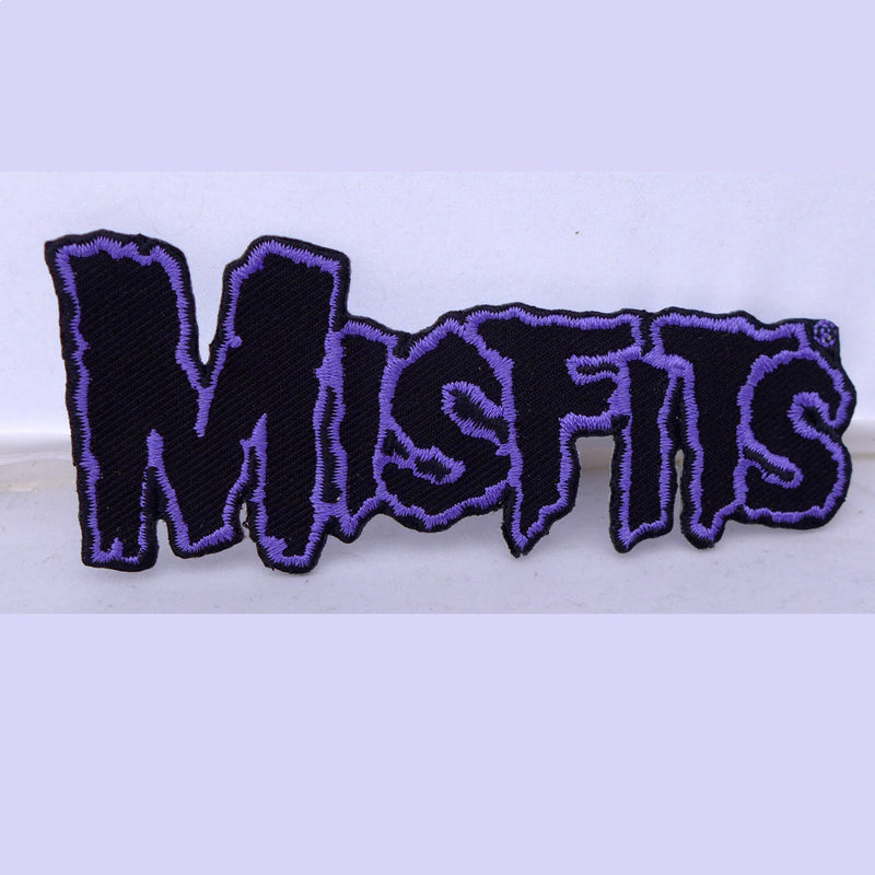 Misfits Logo Purple Patch