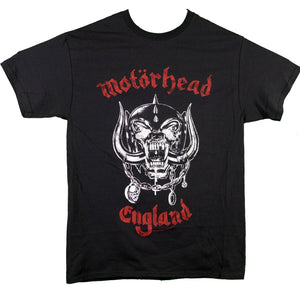 Motorhead Red England Distressed