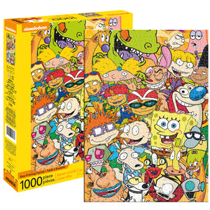Nickelodeon Cast 1000 pc. Puzzle
