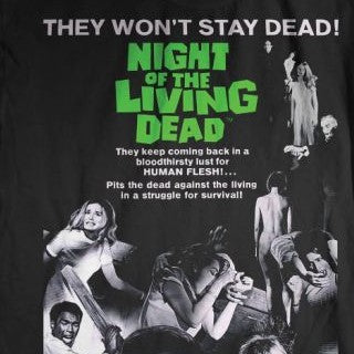 Night of the Living Dead Poster Shirt