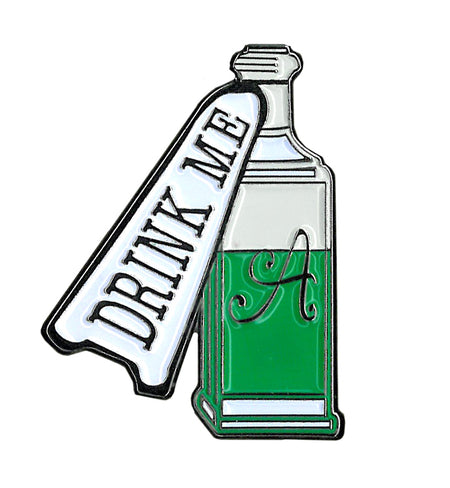 Alice Drink Me Enamel Pin