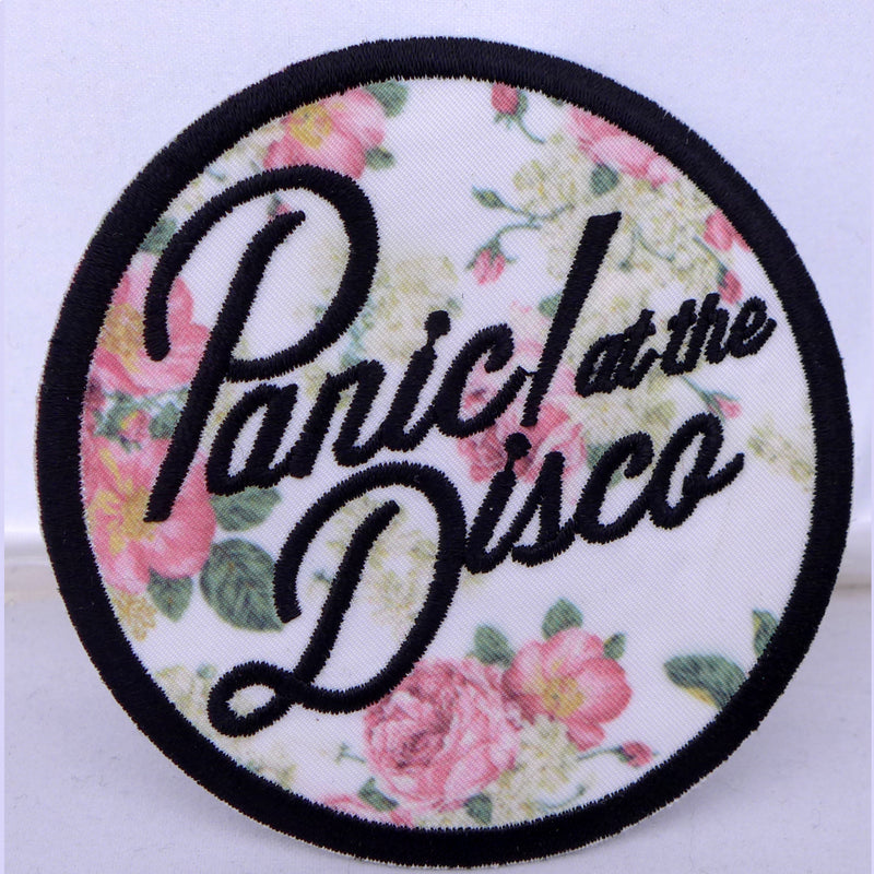 Panic at the Disco Floral Patch