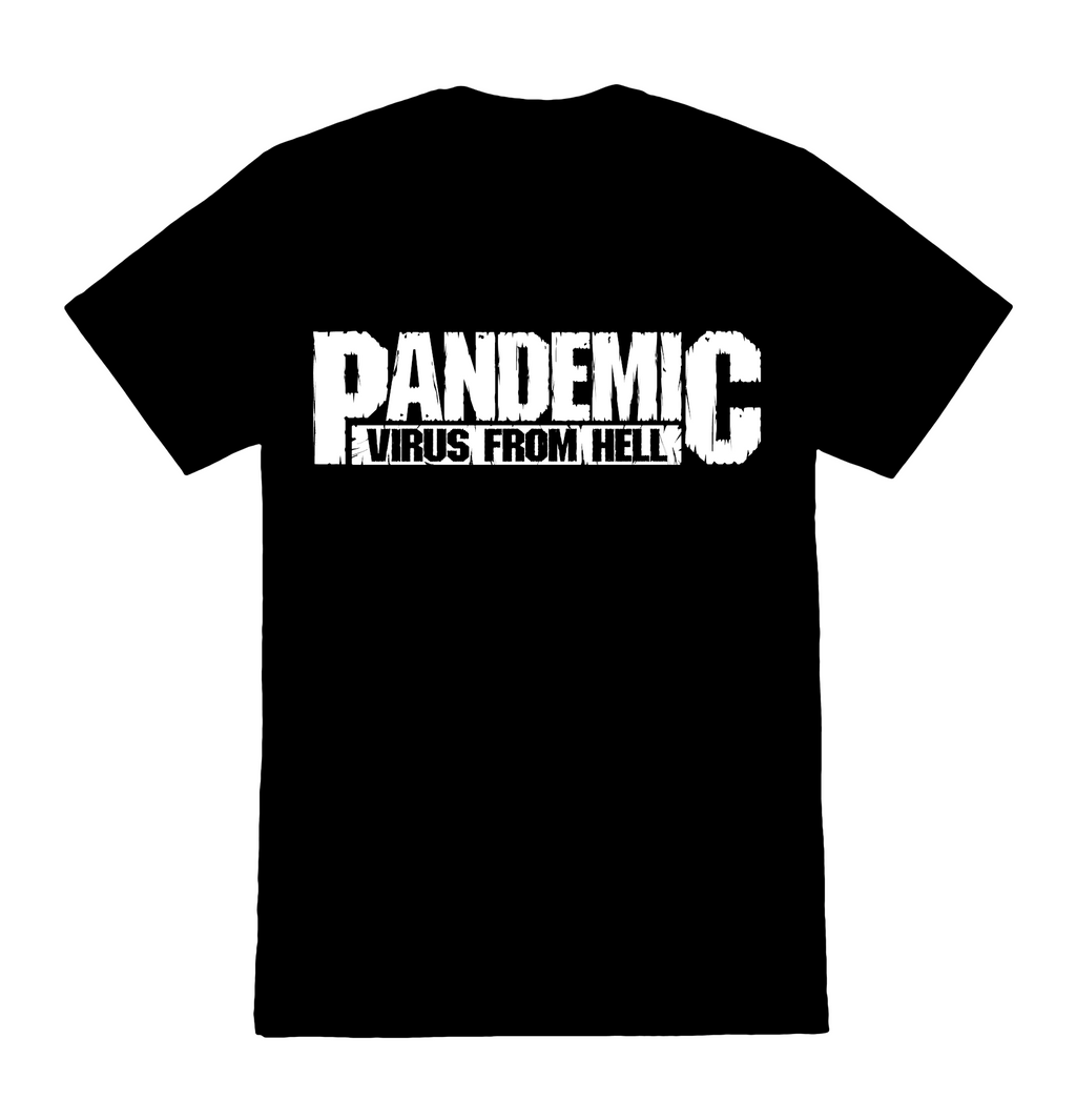 Support Local! 100% of Shirt Proceeds Go To Employees! - Pandemic Virus From Hell