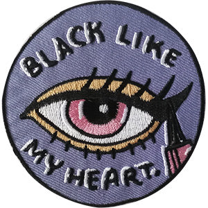 Black Like My Heart Patch