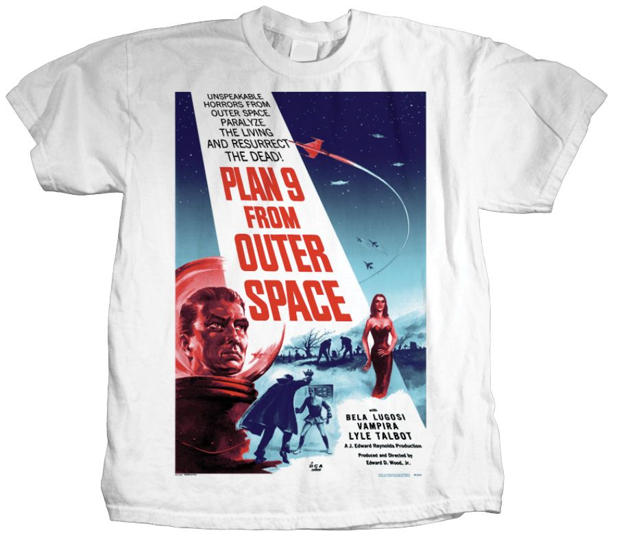 Plan 9 From Outer Space on White
