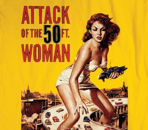 Attack Of The 50ft. Woman on Gold