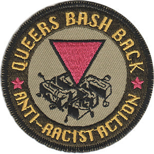 Queers Bash Back Patch