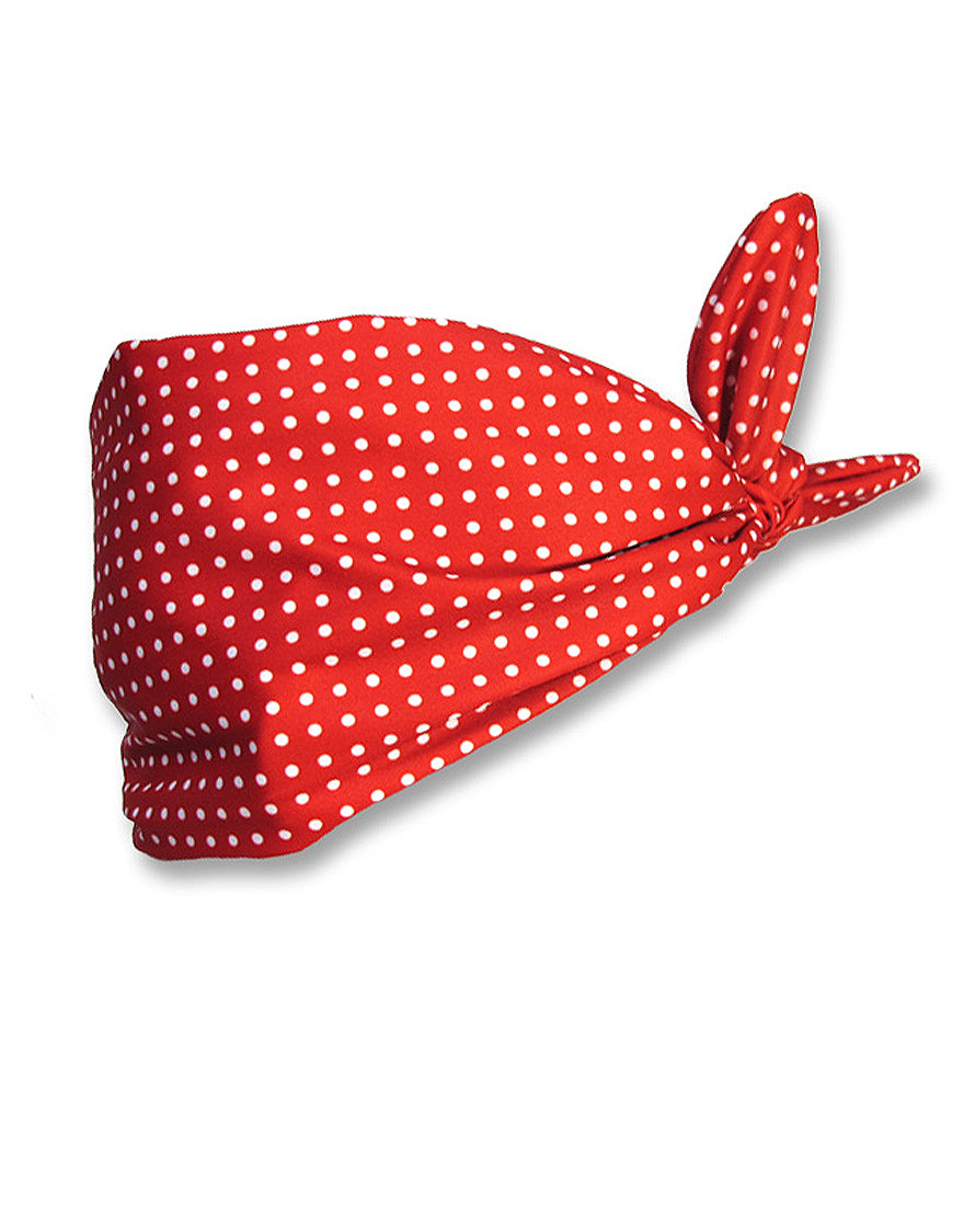 Polka Dot Red Headband
