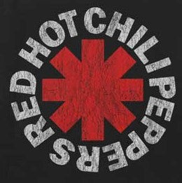 Red Hot Chili Peppers (RHCP) Vintage Asterisk
