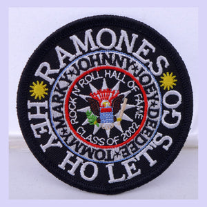 Ramones Hey Ho Color Patch