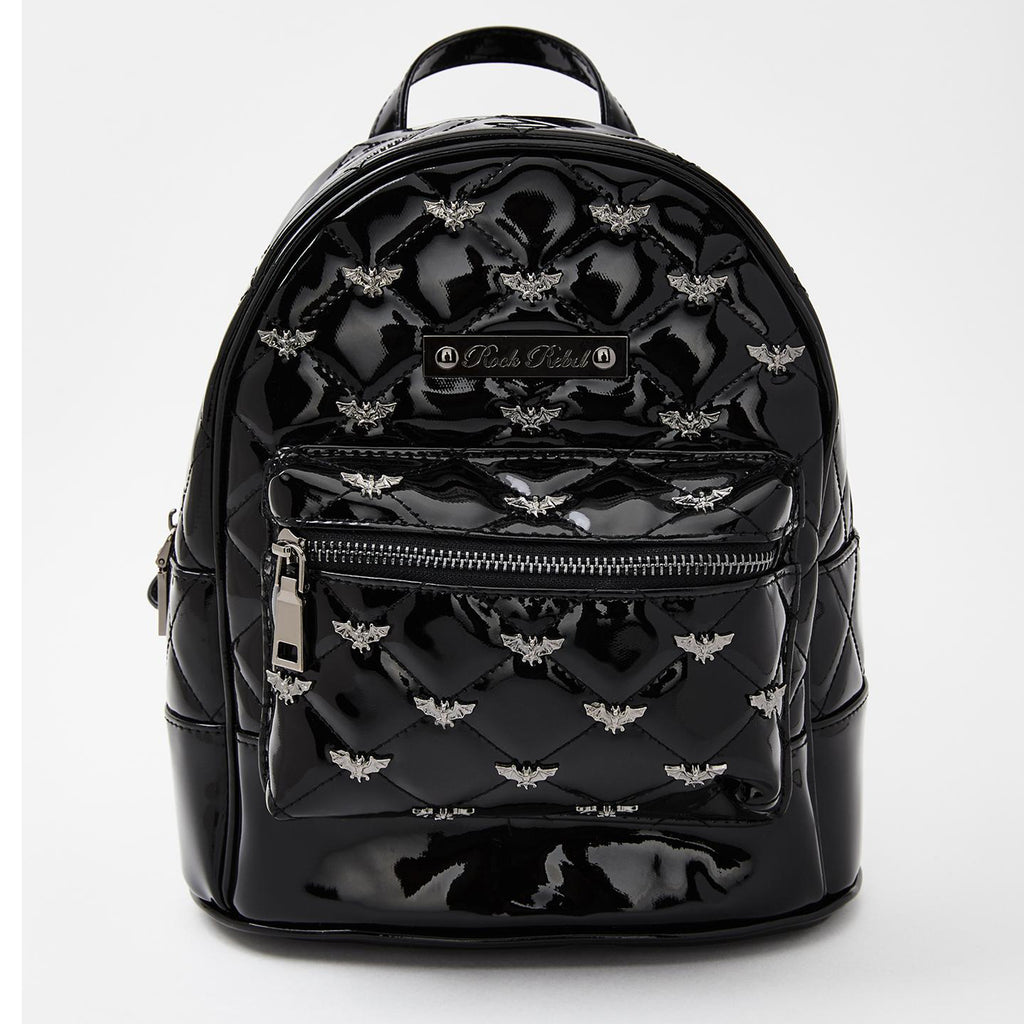 Black Bats Mini Backpack