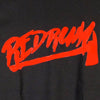 Redrum-Red on Black