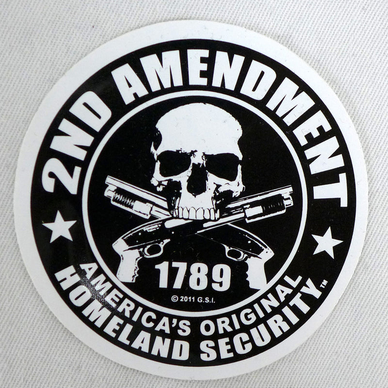Mini Sticker-Second Amendment