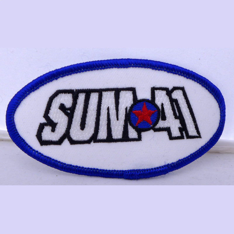 Sum 41 Oval Patch