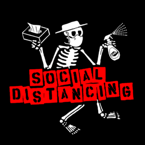 Support Local! 100% of Shirt Proceeds Go To Employees! - Social Distancing
