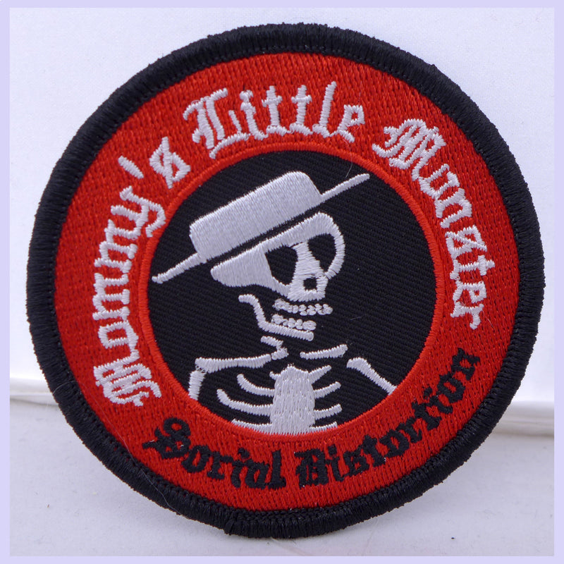 Social Distortion Mommy's Little Monster Patch
