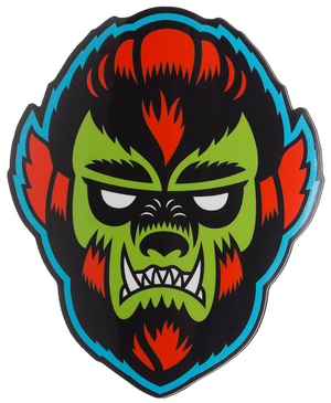 Wolfman Sourpuss Sticker