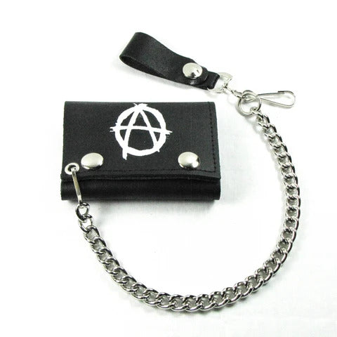 Anarchy White Wallet