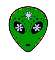 Sugar Alien Enamel Pin