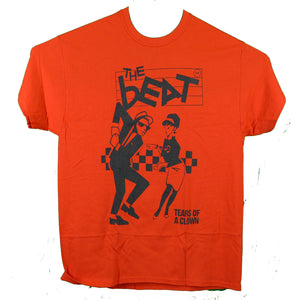 The English Beat Tears of A Clown Red Tee