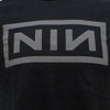 NIN Grey Logo on Black