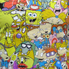 Nickelodeon Square Character Collage