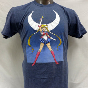 Sailor Moon on Blue Heather