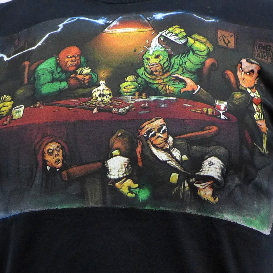 Monsters Playing Poker