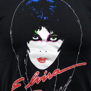 Elvira 80's Mens Black T