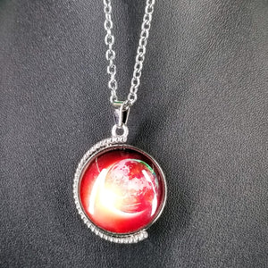 Universe Spinning Pendant Necklace