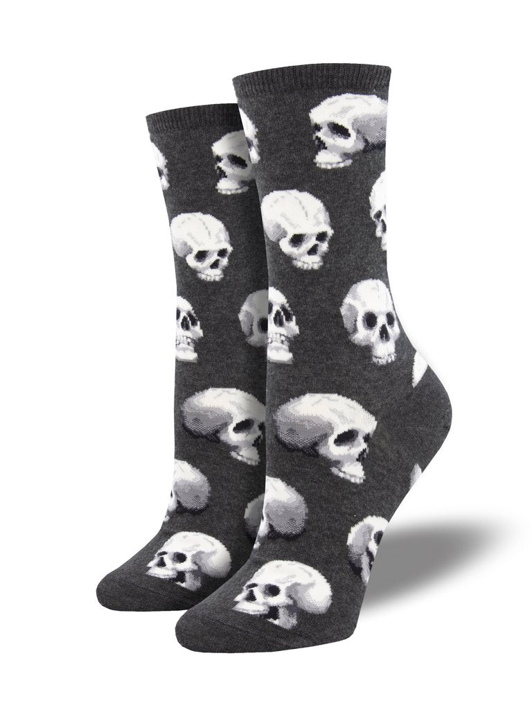 Sacred Skulls Charcoal Heather Women's Socks