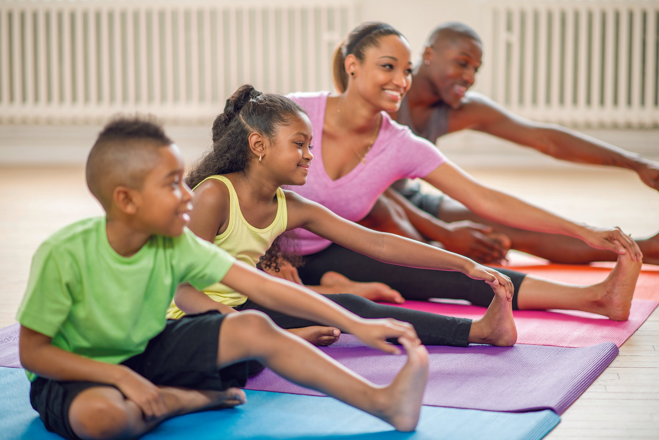 Tips to Get the Whole Family Moving at Home