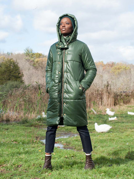 The Casto Parka in Forest