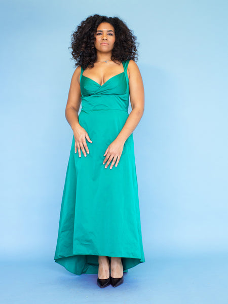 The ANAIS Gown - Emerald