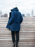 30% Off: The Classic VAUTE Peacoat in Midnight on Her