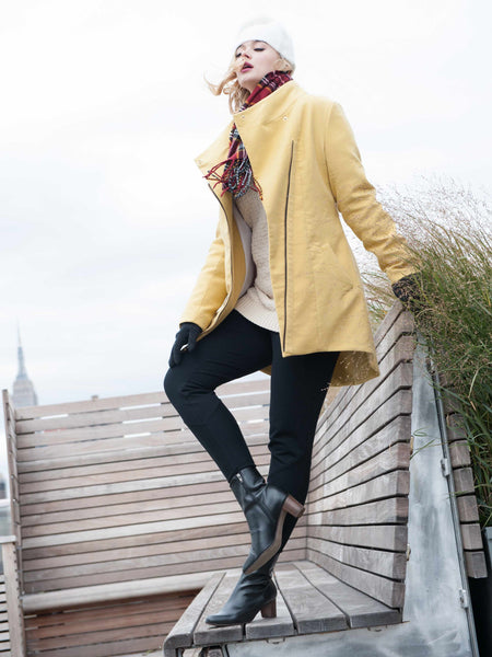 35% Off: The AIDAN in Mustard