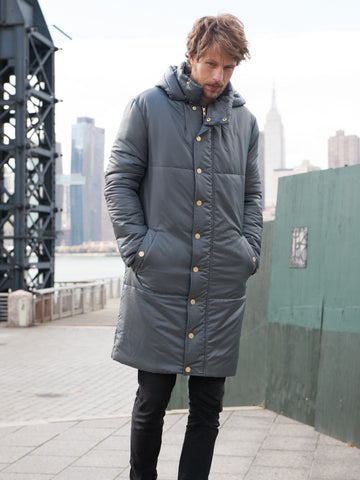 15% off: The MARK Snow Coat - Charcoal
