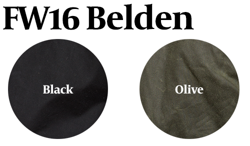 15% Off: FW16 Belden Waxed in Black