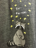 Ew, Fur Real Tank - Heather Black [Benefit for Fur Bearer Defenders]
