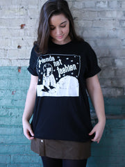 Friends Not Fashion Organic Tee - Black