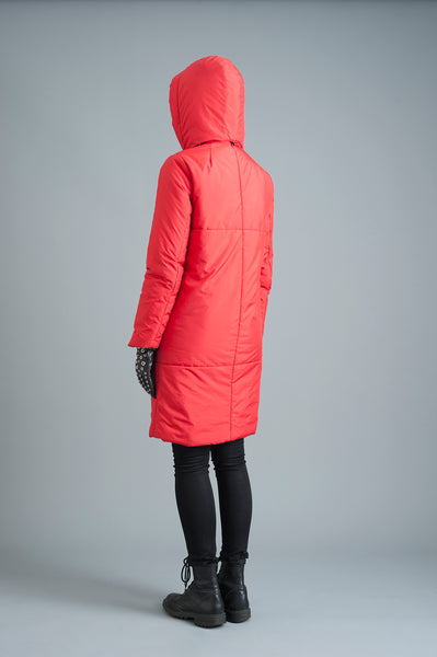 The 2019 Casto Parka in Red