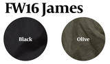 JUST ARRIVED 25% Off: The James Waxed Motorcycle in Black and Olive on Him