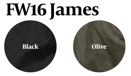 15% Off: The James Waxed Motorcycle in Black and Olive on Him