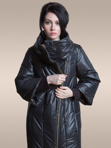40% Off: Snow Monster Parka in Shiny Black
