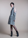 25% OFF: The Brenda Shirt Dress in Organic Plaid