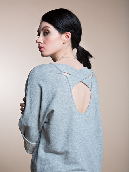 JUST ARRIVED 25% OFF: The Organic Crossover Sweater Dress