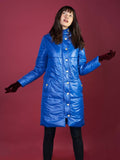 The Casto Parka in Cobalt